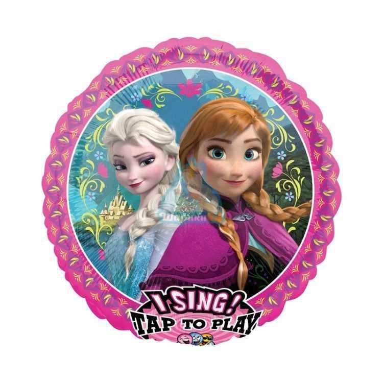 Поющий фольгированный шар Принцессы