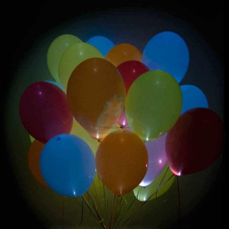 Шары с подсветкой фото в интернет-магазине Шарики 24