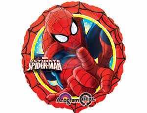 Фольгированный шар Человек паук фото в интернет-магазине Шарики 24