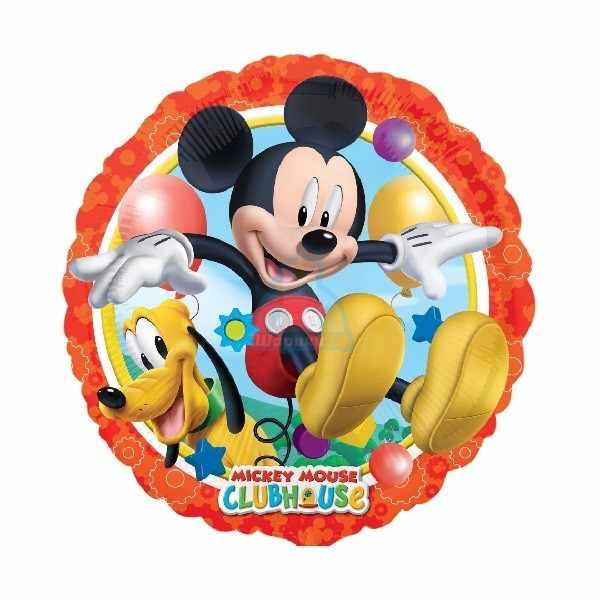 Фольгированный шарик Микки и Плуто