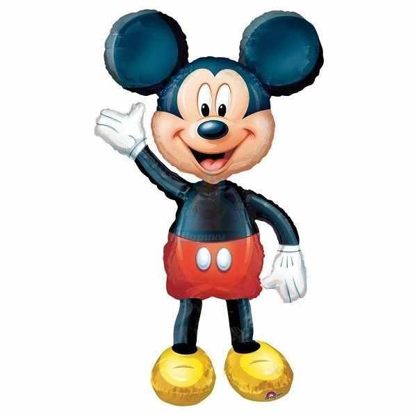 Ходячая фольгированная фигура Микки Маус