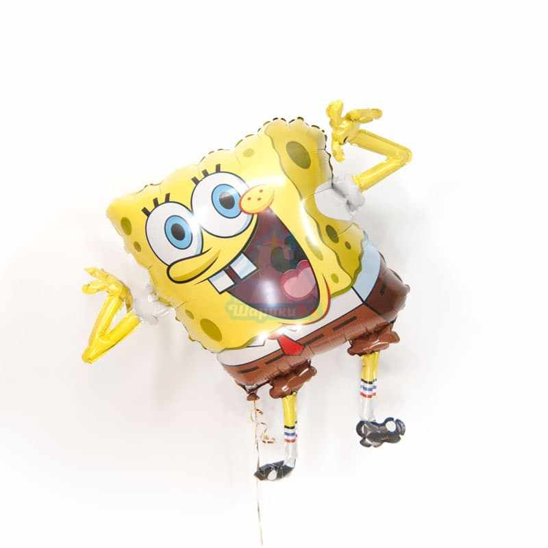 Фольгированная фигура Спанч Боб фото в интернет-магазине Шарики 24