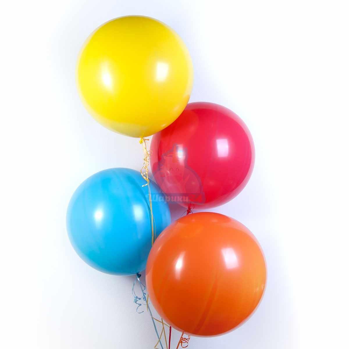 Большие шарики 65 см фото в интернет-магазине Шарики 24