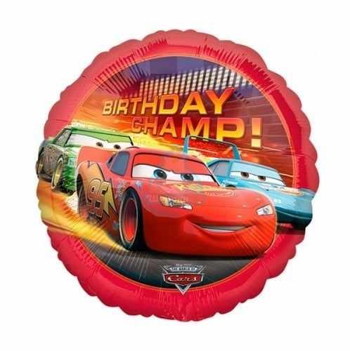 Фольгированный шарик Тачки
