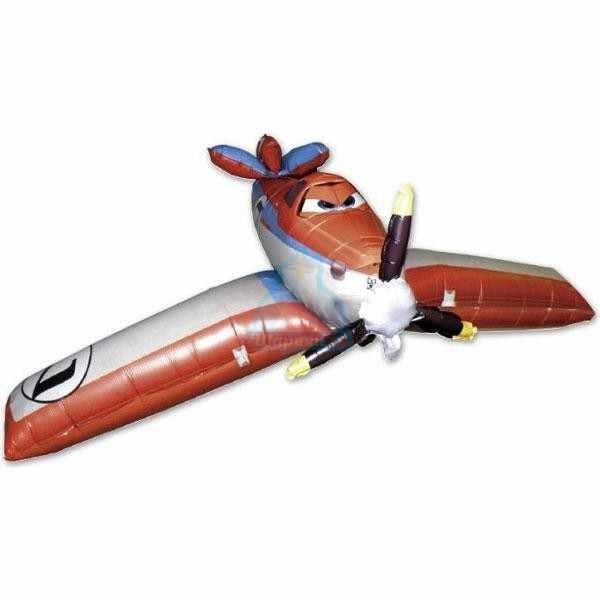 Ходячая фольгированная фигура Самолет Дасти