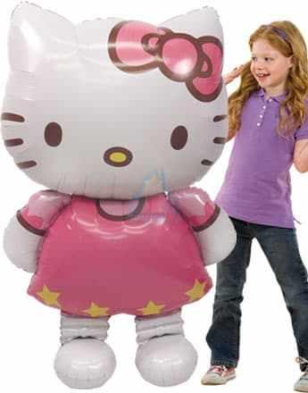 Ходячая фигура Hello Kitty фото в интернет-магазине Шарики 24