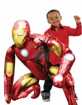 Ходячая фигура Железный человек фото в интернет-магазине Шарики 24