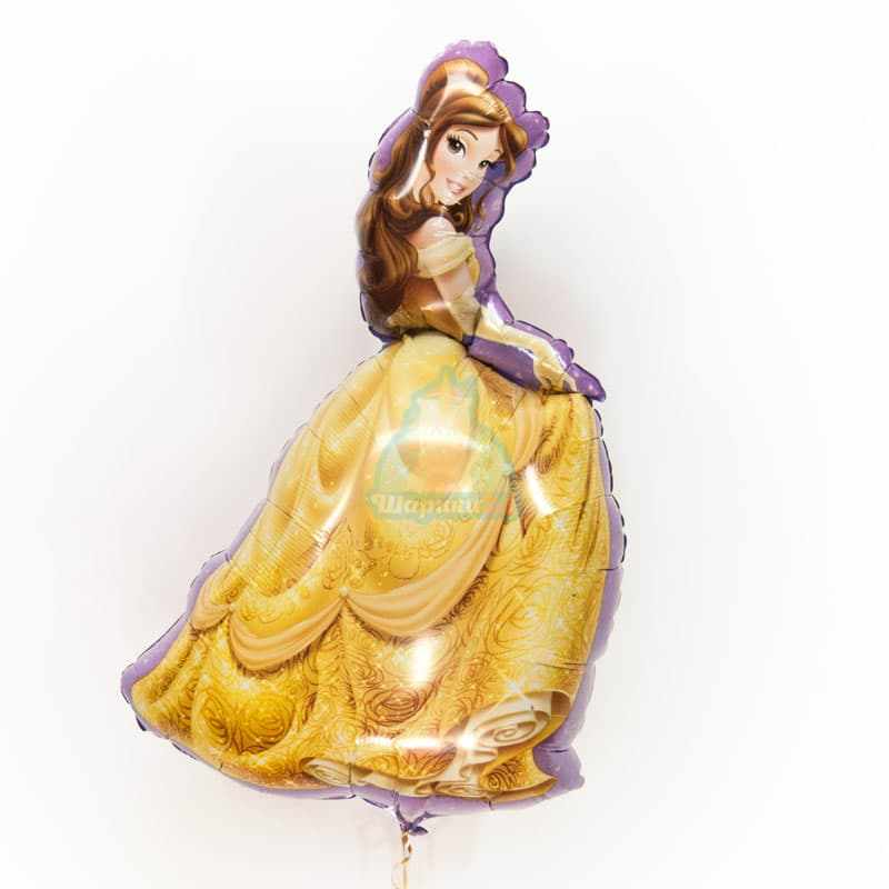 Фольгированная фигура принцесса Бэль фото в интернет-магазине Шарики 24