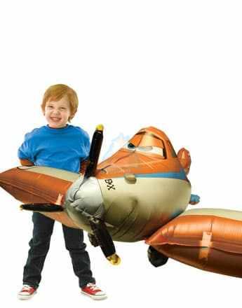 Ходячая фигура самолет Дасти фото в интернет-магазине Шарики 24