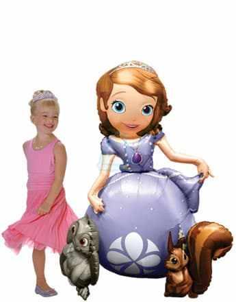 Ходячая фигура Принцесса София фото в интернет-магазине Шарики 24