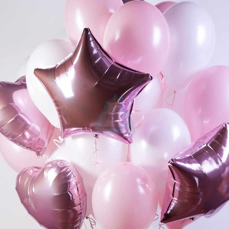 белые+розовые+звезды