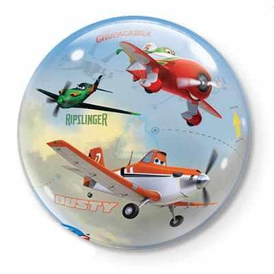 Шар Disney Самолеты фото в интернет-магазине Шарики 24