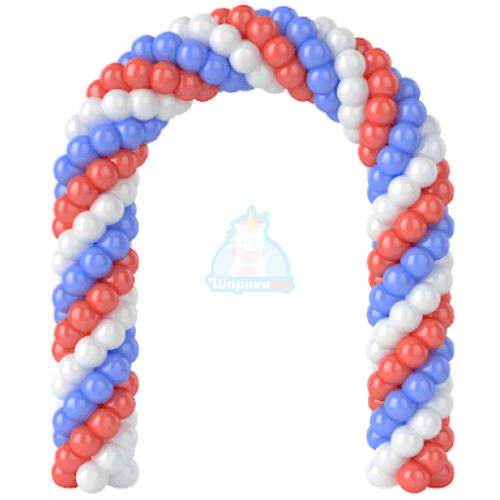Арка из шаров (1 метр) фото в интернет-магазине Шарики 24