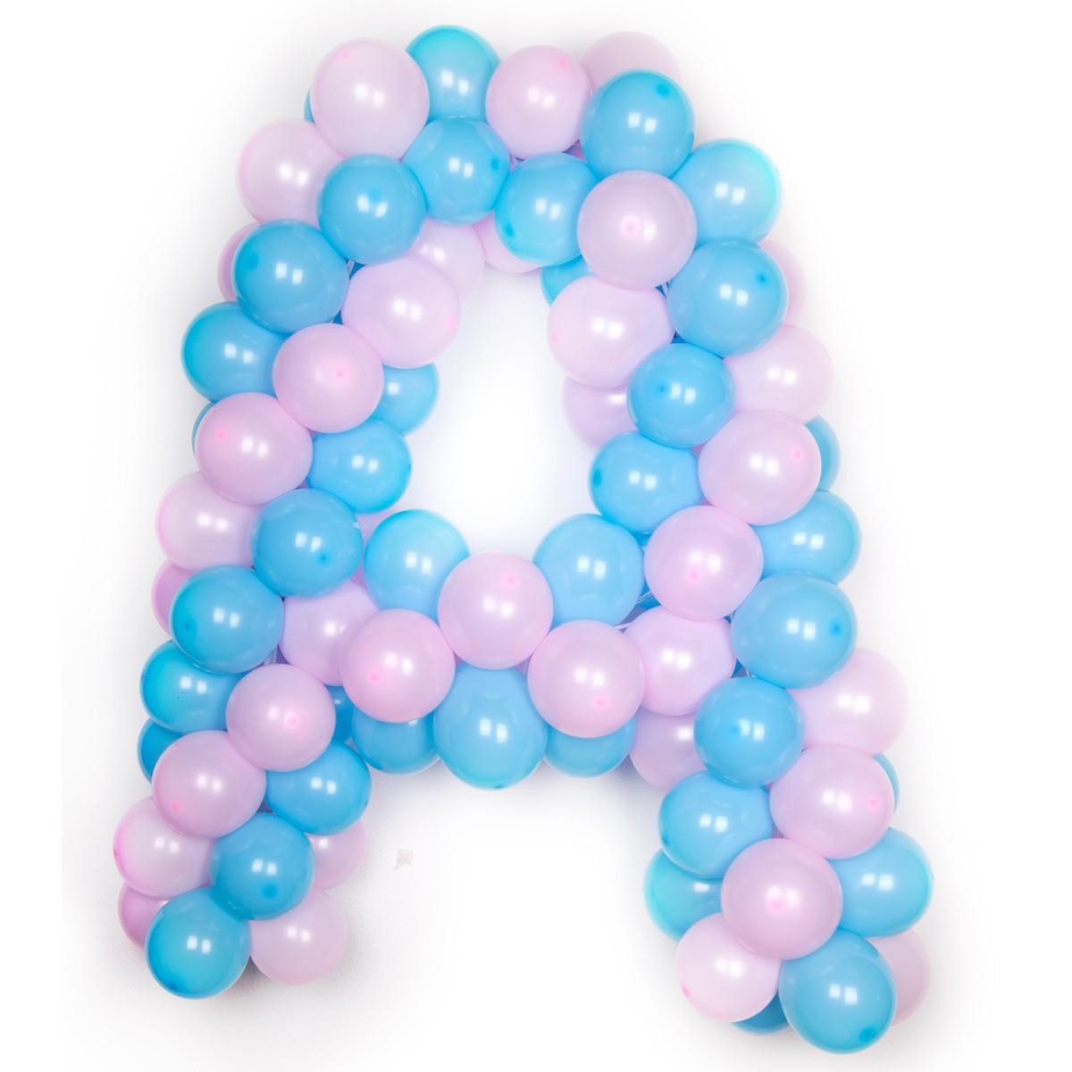 Буквы из шаров фото в интернет-магазине Шарики 24