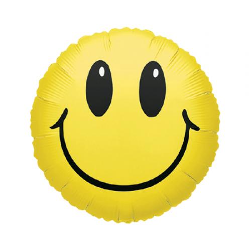 Фольгированный шар Смайлик фото в интернет-магазине Шарики 24