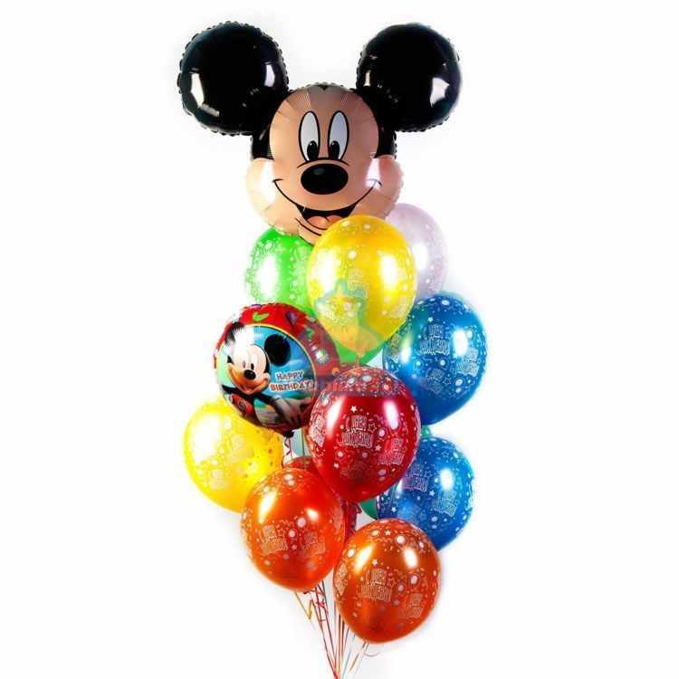 Композиция С Днем Рождения с Микки Маусом