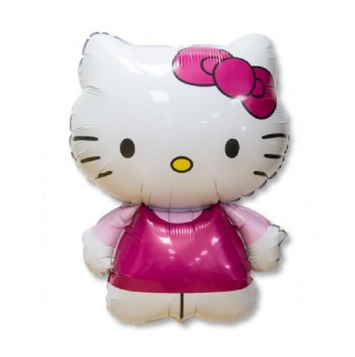 Фольгированная фигура Hello Kitty фото в интернет-магазине Шарики 24