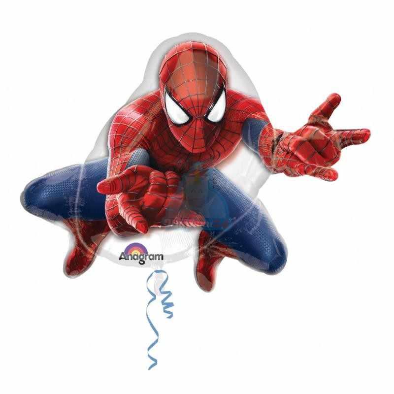 Фольгированная фигура человек паук фото в интернет-магазине Шарики 24