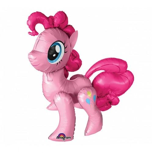 Ходячая фигура розовая пони фото в интернет-магазине Шарики 24