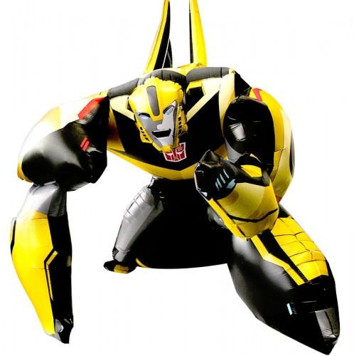 Ходячая фигура Трансформер бамблби фото в интернет-магазине Шарики 24