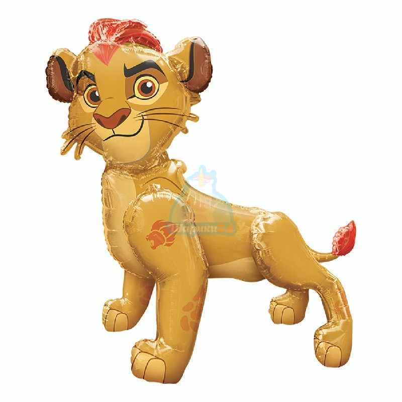 Ходячая фольгированная фигура Король Лев