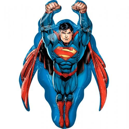 Фольгированная фигура супермен фото в интернет-магазине Шарики 24