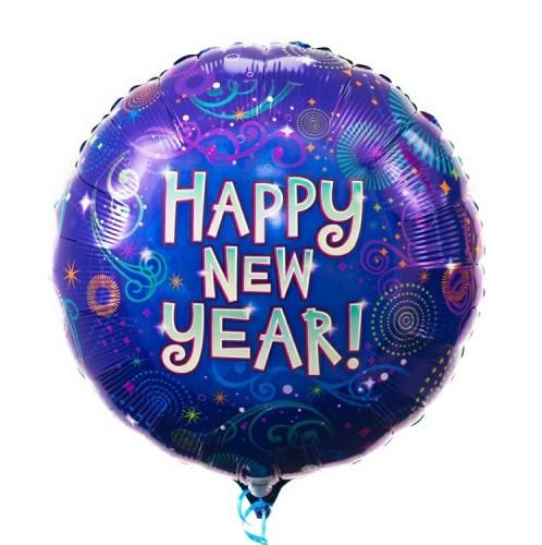 Фольгированный шар Happy new Year! фото в интернет-магазине Шарики 24