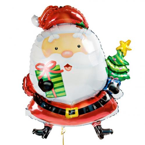 Фольгированная фигура Santa Claus фото в интернет-магазине Шарики 24