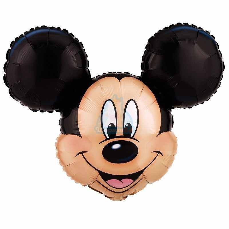 Фольгированная фигура голова Микки Мауса