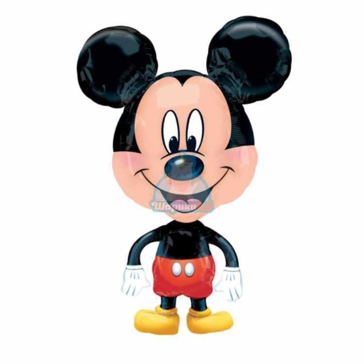 Ходячая фольгированная фигура Минни Маус маленькая