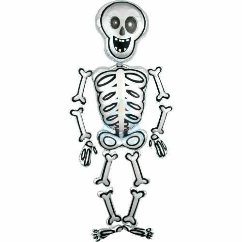 Ходячая фольгированная фигура Скелет Мистер Скелли