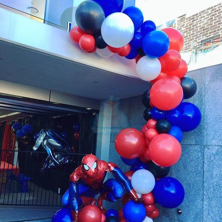 Арка с человеком пауком 5 метров