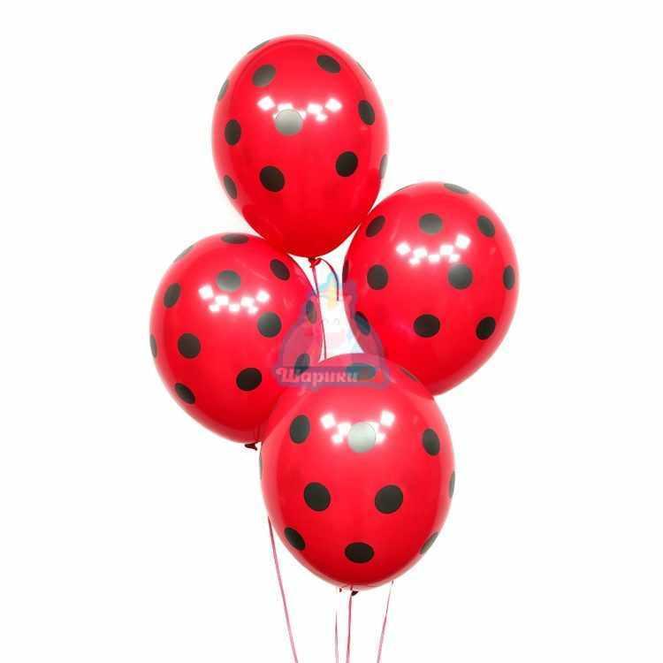 Красные шарики в точку