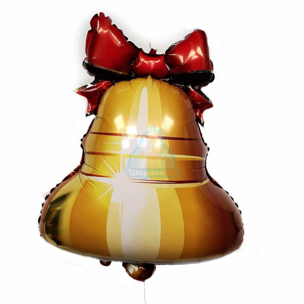 Фольгированный шарики колокольчик