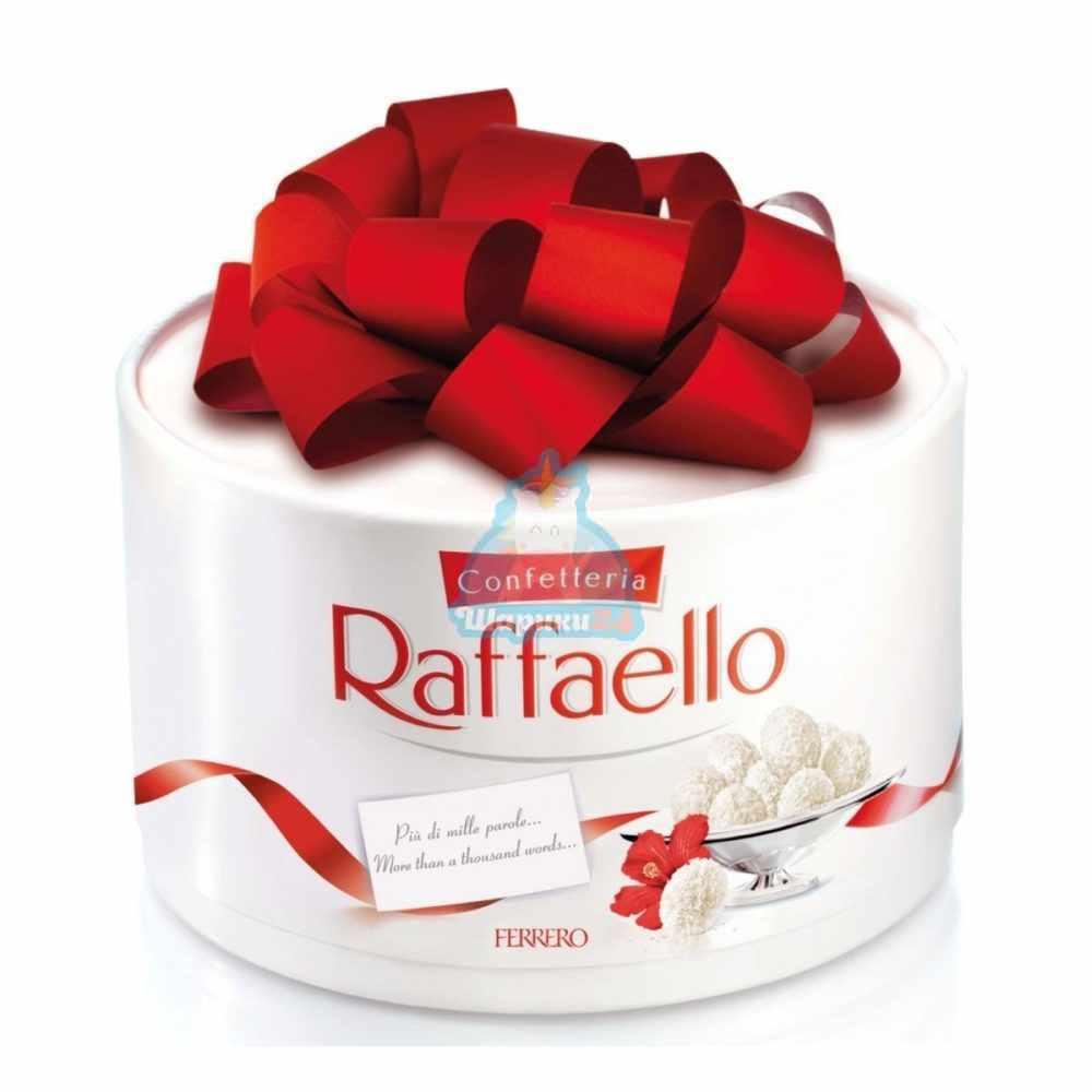 Конфеты Raffaello, с цельным миндальным орехом в кокосовой обсыпке