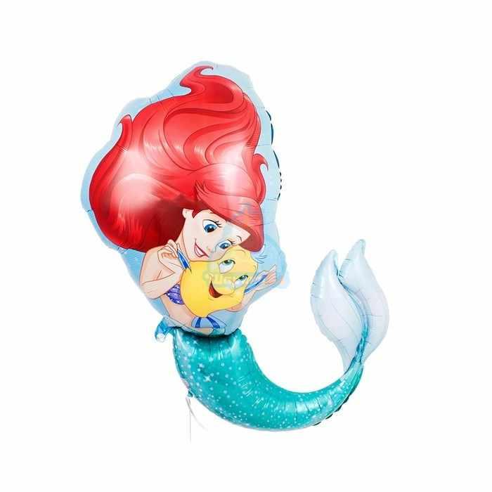 Фольгированная фигура русалка Ариэль