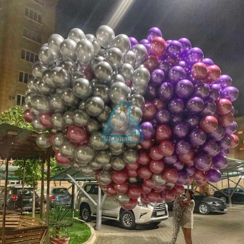 500 хромированных шаров