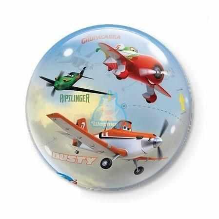 Кристальный шар Bubble Disney Самолеты