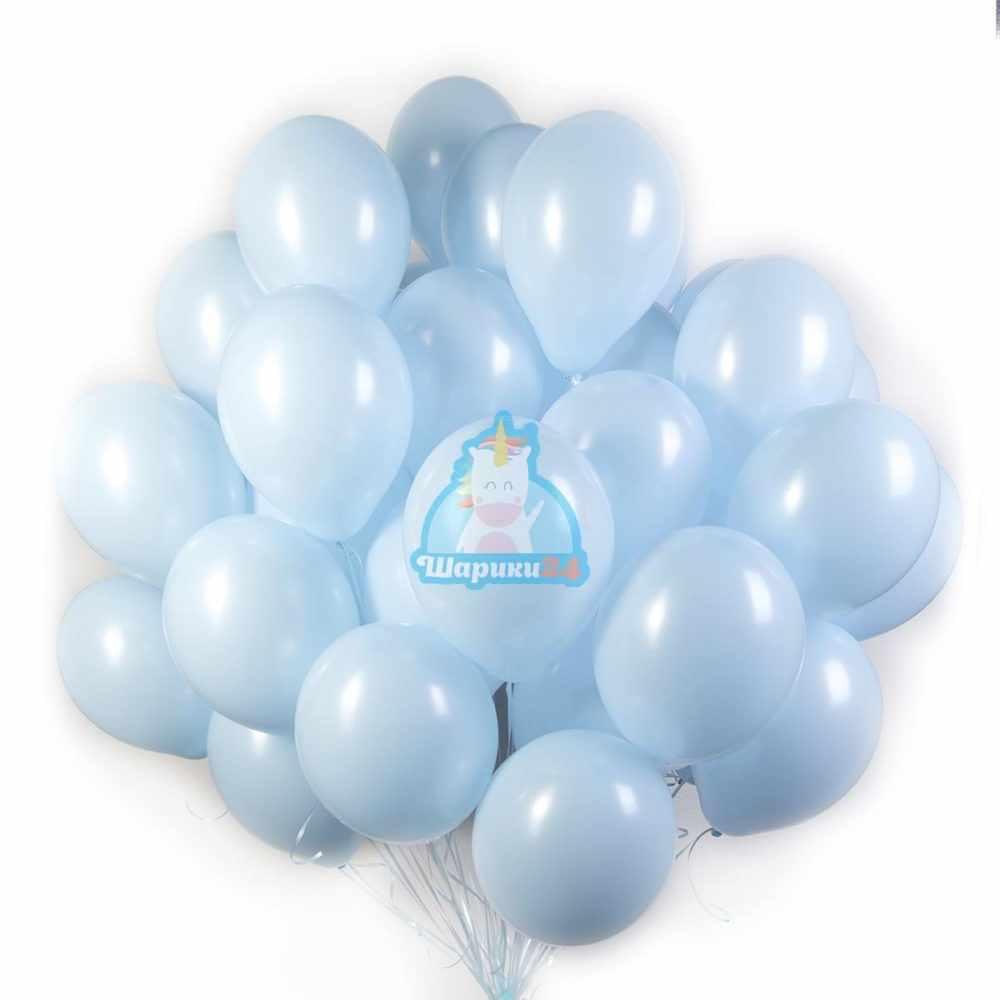 Облако голубых шариков 50 штук