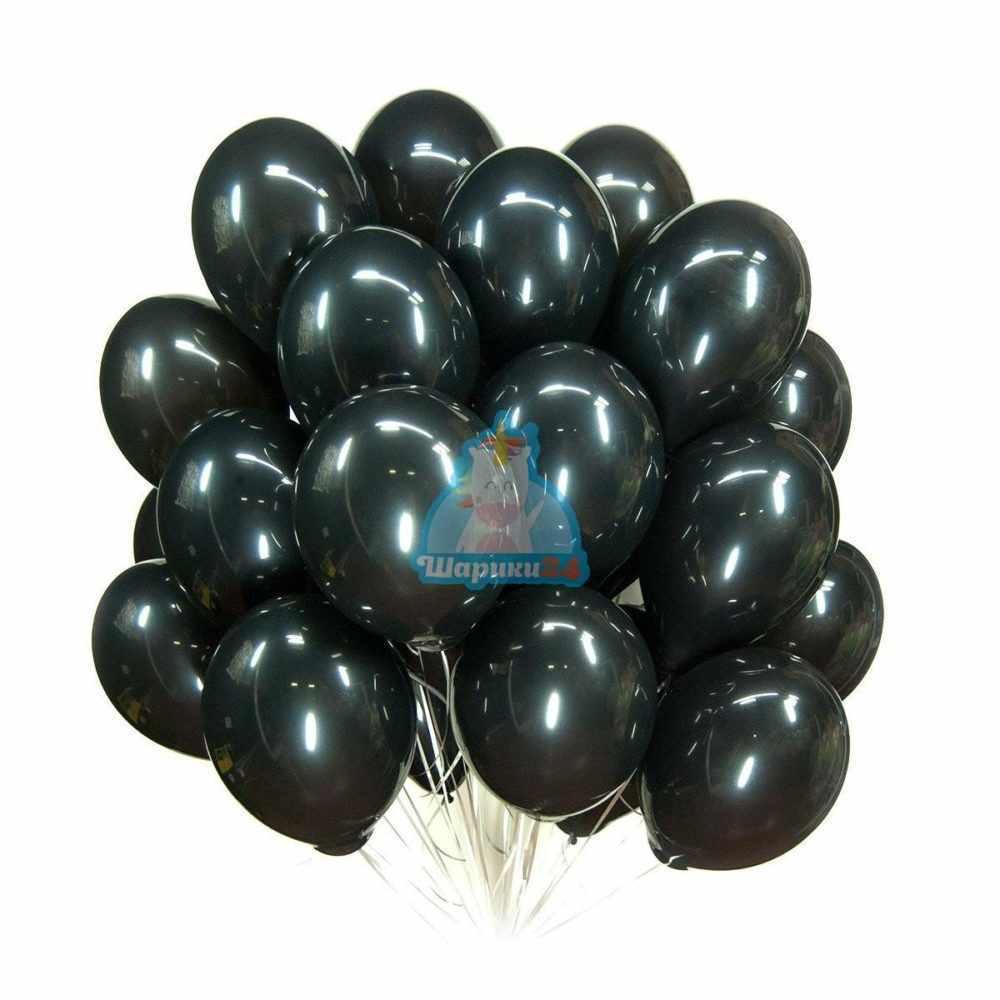 Гелиевые шары черные