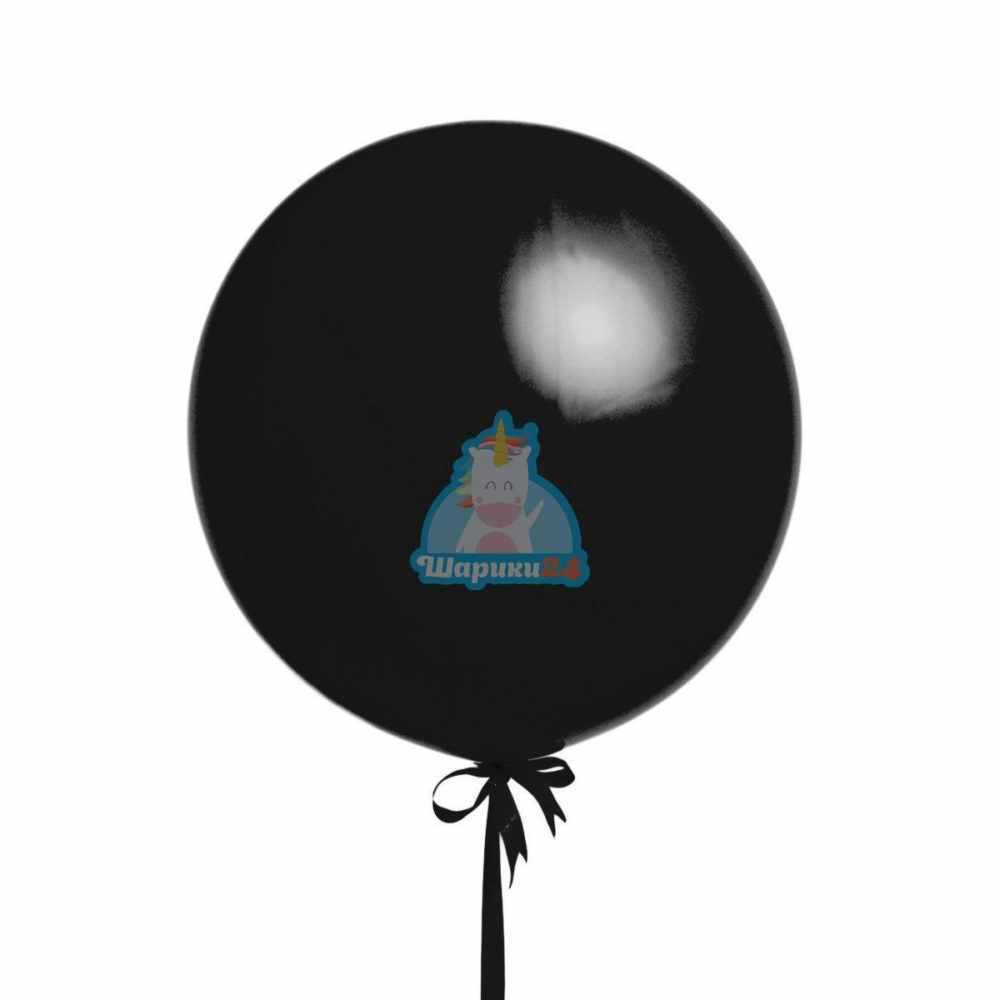 Большой черный шар