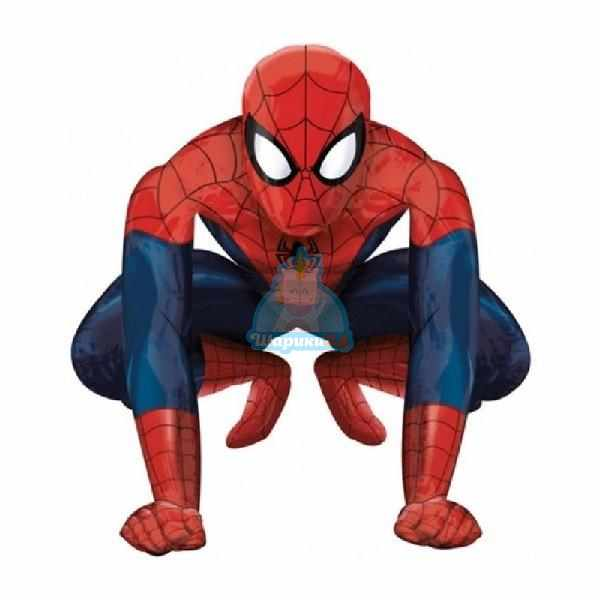 Ходячая фольгированная фигура Человек Паук
