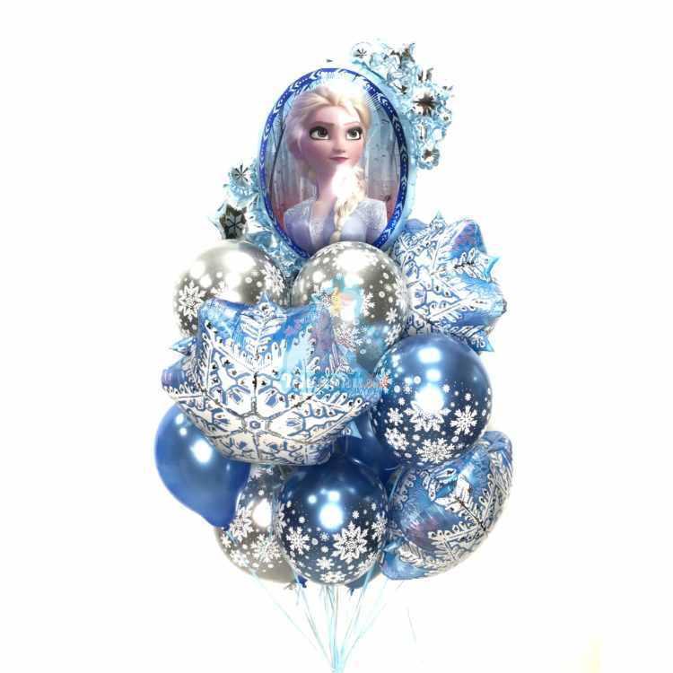 Композиция Холодное Сердце Новогодняя со снежинками