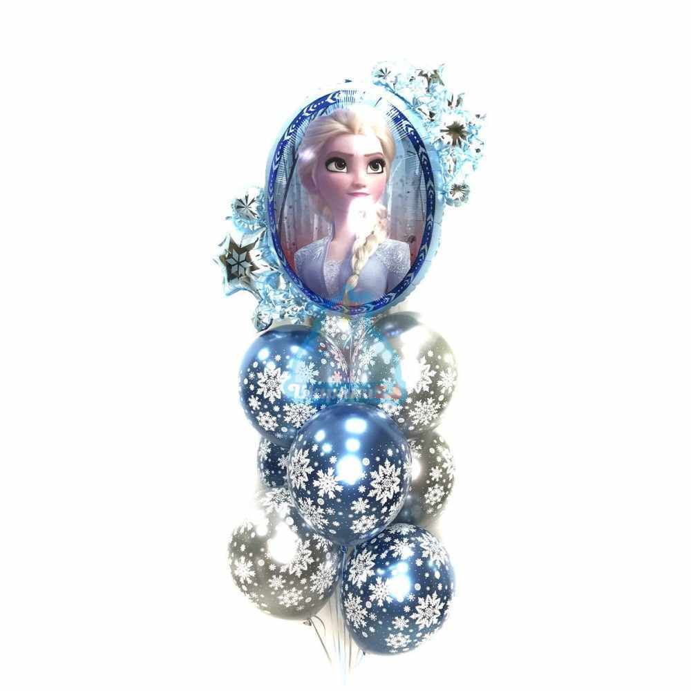 Композиция Холодное Сердце со снежинками