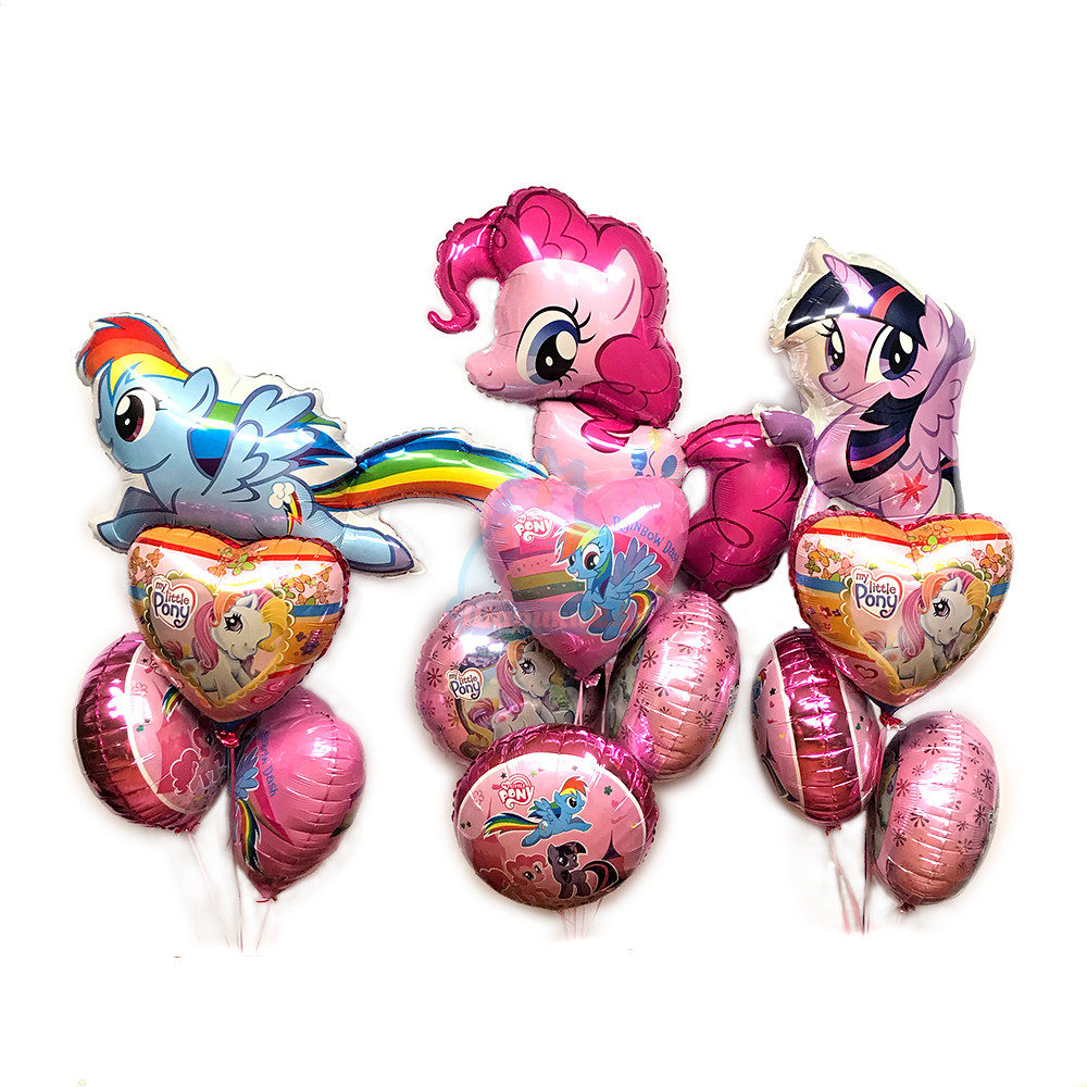 Большая композиция из шаров My little pony