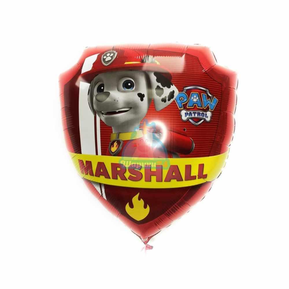 Фольгированный шар Щенячий патруль Маршал