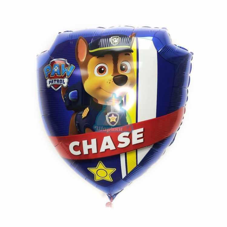 Фольгированный шар Щенячий патруль Чейз