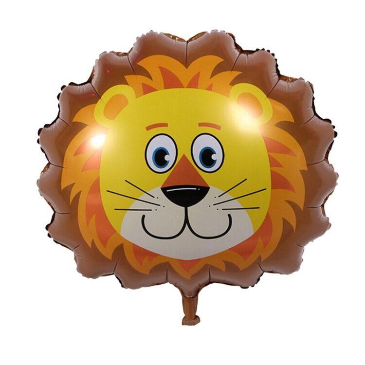 Фольгированная фигура голова льва