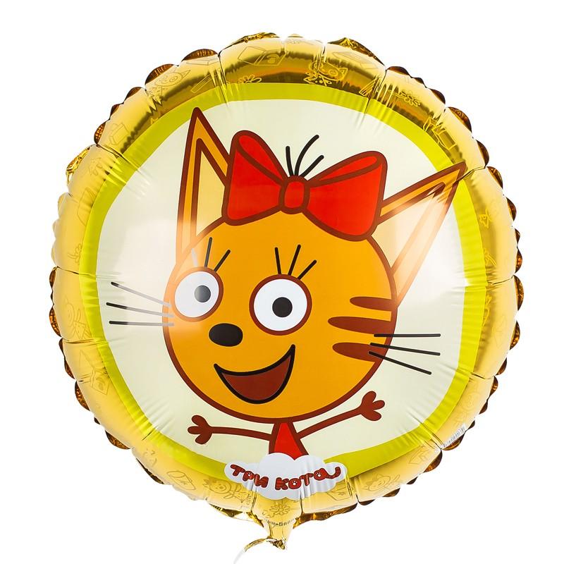 Фольгированный шар Три Кота Карамелька