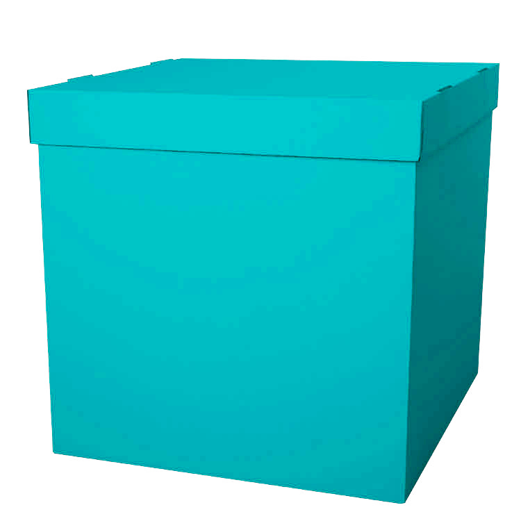 Коробка мятная для шаров 70*70*70